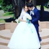 Свадебное платье. Фото 2. Осинники.