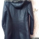 Продам кожаную куртку на натуральной цегейке. Фото 3. Воскресенск.