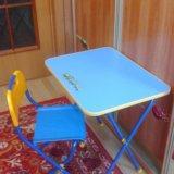Столик и стул складные. Фото 1. Новокузнецк.