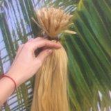 Натуральные волосы для наращивания блонд. Фото 2. Бор.