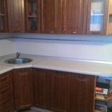 Кухня, кухонный гарнитур со встроенной техникой. Фото 3.