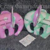 Текстильные игрушки слоники. Фото 1. Климовск.