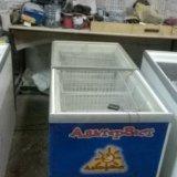 Морозильный ларь стекольный. Фото 4.
