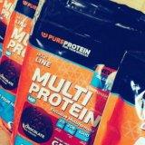 Протеин multiprotein pureprotein 1кг. Фото 1.