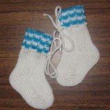 Шерстяные носки. Фото 2.