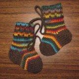 Шерстяные носки. Фото 1.