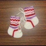 Шерстяные носки. Фото 3.