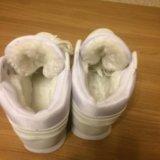 Кроссовки зима новые. Фото 2.