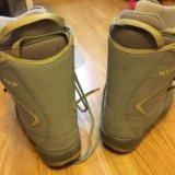 Женские ботинки для сноуборда. Фото 4.