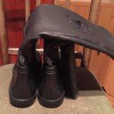 Сапоги новые резиновые 40-41 размер. Фото 3.