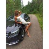 Платье кружевное белое. Фото 2. Красноярск.