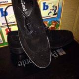 Ботинки натуральная замша фирма paolo conto оригин. Фото 1.