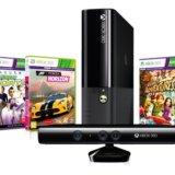 Xbox с кинектом и играми. Фото 1. Миасс.