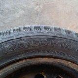 Зимние шипованные колеса радиус 15. Фото 2.