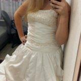 Свадебное платье. Фото 1. Новосибирск.