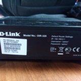 Wi-fi роутер d-link dir-320. Фото 1.