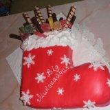 Новогодние торты. Фото 1.