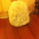 Шапка из вязаного кролика. Фото 3.