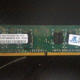 Оперативная память для пк ddr 2 1gb. обмен на ddr3. Фото 1.
