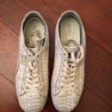 Кроссовки puma кожаные. Фото 1.