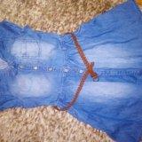 Платье джинсовое. Фото 2. Оренбург.