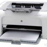Принтер hp laserjet pro p1102. Фото 1.