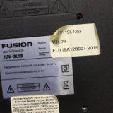 Телевизор led fusion-19l12b. Фото 3. Красноярск.