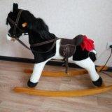 Лошадка качалка. Фото 1.