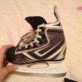 Коньки хоккейные 32 размер. Фото 1.