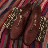 Кожаные ботинки 36р. Фото 2. Москва.