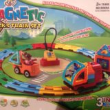 Magnetic train set. Фото 1.