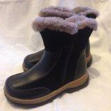 Ботинки зимние(кожа),размер 30. Фото 1.