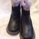 Ботинки зимние(кожа),размер 30. Фото 2.