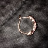 Комплект серьги+ кольцо. Фото 2.
