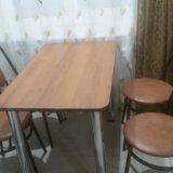 Стол и 4 стула. Фото 1. Камышин.