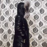 Куртка зимняя экокожа. Фото 4. Москва.