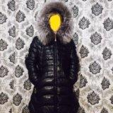 Куртка зимняя экокожа. Фото 1. Москва.