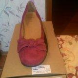 Туфли р.40-40,5 цвет бордовый. Фото 2.