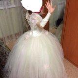 Шикарное платье 122-128. Фото 4. Нижневартовск.