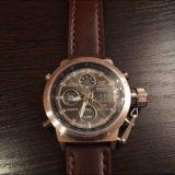 Кварцевые часы amst 3003 b. Фото 1.