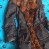 Пальто зимнее р.44. Фото 4.