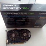 Видеокарта gigobayte gtx 750ti. Фото 3.
