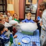 Химическое шоу, химшоу, москва, день рождения. Фото 1.