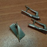 Серебряные серьги и подвеска. Фото 2.