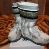 Унты из оленьего камуса- оленьей шкуры,размер 28. Фото 4.