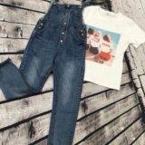 Комбез джинсовый. Фото 1. Знамя Октября.