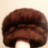 Норковая шапка. Фото 4.