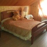 Двуспальная кровать. Фото 1.