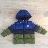 Куртка пуховик adidas на мальчика. Фото 1. Краснодар.