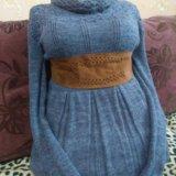 Вязанное платье. Фото 1.